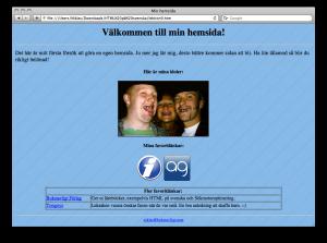 Lektion 9 - HTML på svenska